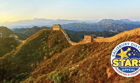 Lynne Our MD is Trekking The Great Wall of China