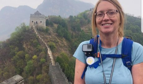 Lynne Treks The Great Wall of China