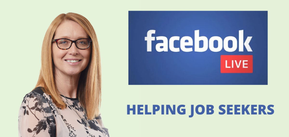 Help for Job Searching - Facebook Live